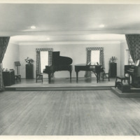 Photograph of Edith McIntosh School of Music interior